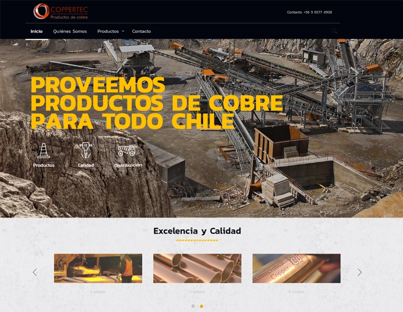 coppertec web