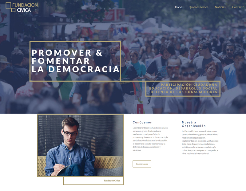 fundacion civica chile web