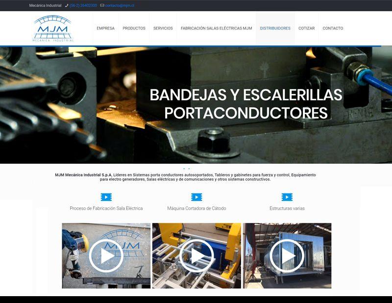 mjm mecanica industrial pagina web