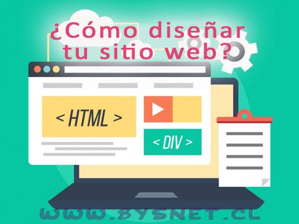 diseñar sitio web en chile