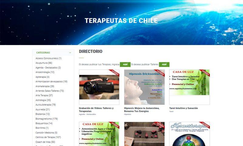 terapeutas chile web