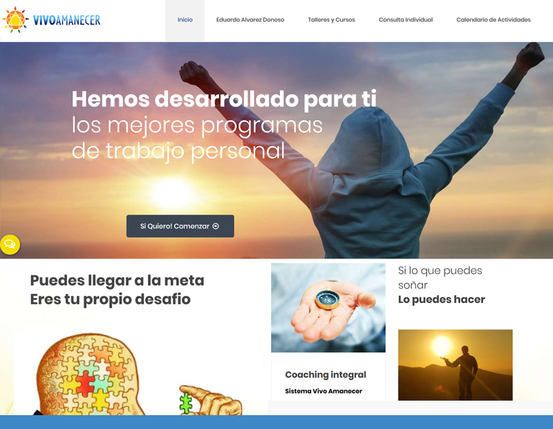 vivo amanecer web chilena