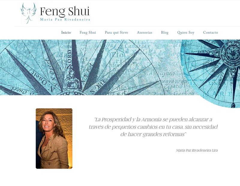 Feng Shui pagina web de Maria Paz Lira