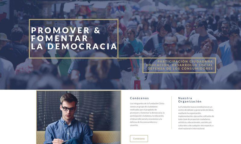 fundacion civica chile web