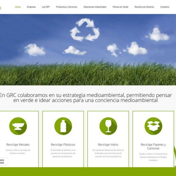 Global Recucling web desarrollada por Bysnet
