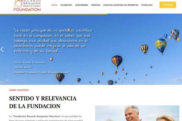 Fundacionricardobenjaminmaccioni.cl